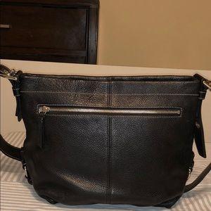 Coach Duffle Convertible Crossbody Black Leather